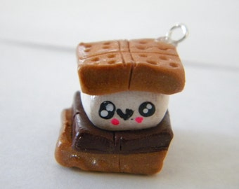 Kawaii S'more Charm