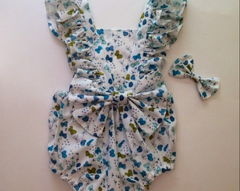 Butterfly and Flutter Sunsuit