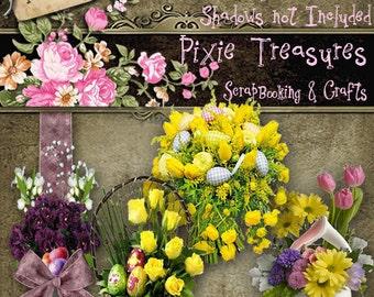 4 Easter Flower Arrangements