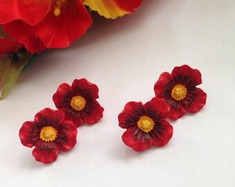 Perfect Poppy Earrings