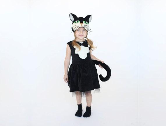 kids halloween costume cat