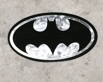 Metal Batman Wall Hanger 12 x 7