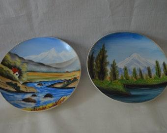 Handpainted Japanese Plates