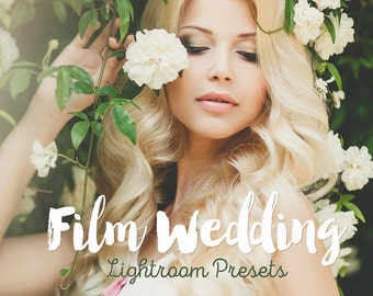 Film Wedding Lightroom Presets Professional Collection Wedding film presets Lightroom 6 cc presets wedding Best Lightroom 6 INSTANT DOWNLOAD