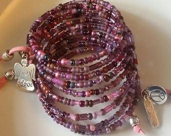 Wrap around bracelet FW906
