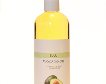 Organic Avocado Oil 100% pure nutrient rich Edible oil from 4 fl.oz up to 7 lbs