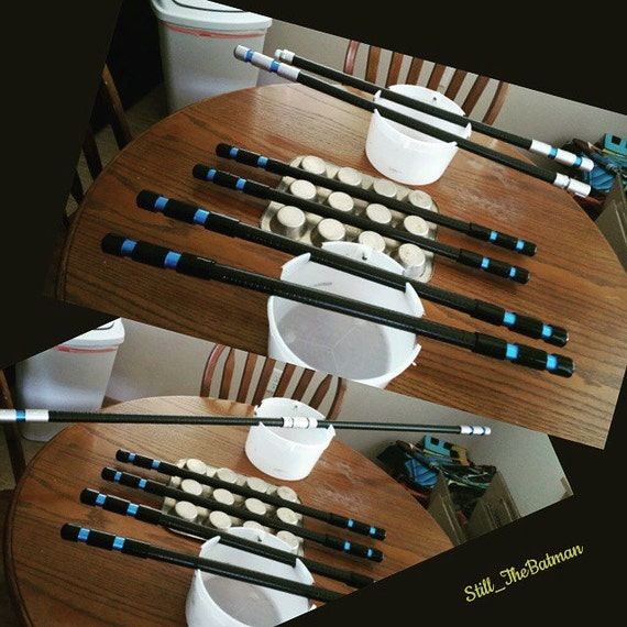 how to make nightwing escrima sticks