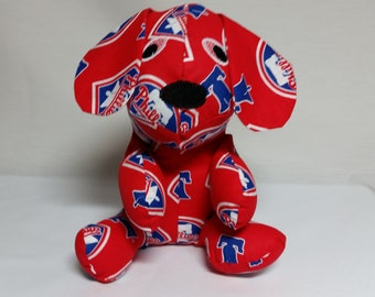 Phildelphia Phillies Stuffed Puppy