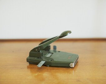 Vintage Two hole paper punch / Ezypunch