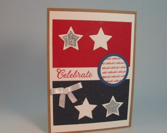 July Fourth Celebration Greeting Card