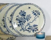 popular items for assiette en porcelaine on etsy. Black Bedroom Furniture Sets. Home Design Ideas