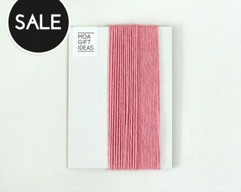 10m Pink solid bakers twine - 10 metres, 4ply SALE