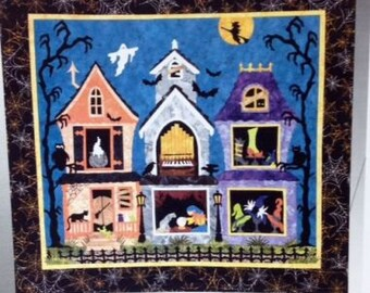 THE WITCHY LADIES by Sue Pritt Halloween Art Quilt Pattern Fusible Web Applique