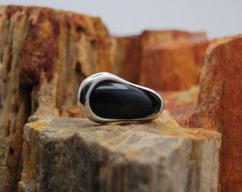 Sterling Silver Mod Ring