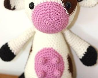 Candace the Cow - Handmade Amigurumi Toy