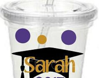 Graduation Tumbler, Graduation Cup, Gift for Graduate
