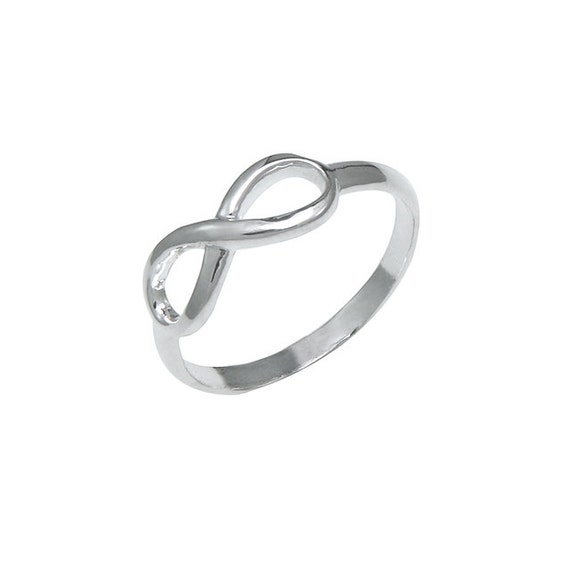 925 sterling silver endless promise infinity symbol ring