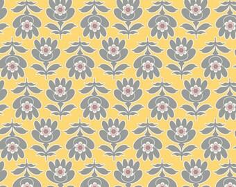 On SALE Art Gallery Floresta Gris - Magnifiscent - Floressence Art Gallery Fabrics - Sale Fabric   - BY 1 YARD