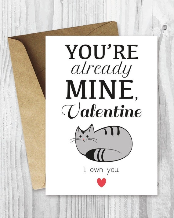 Valentines Card Funny Printable Funny Valentines Day