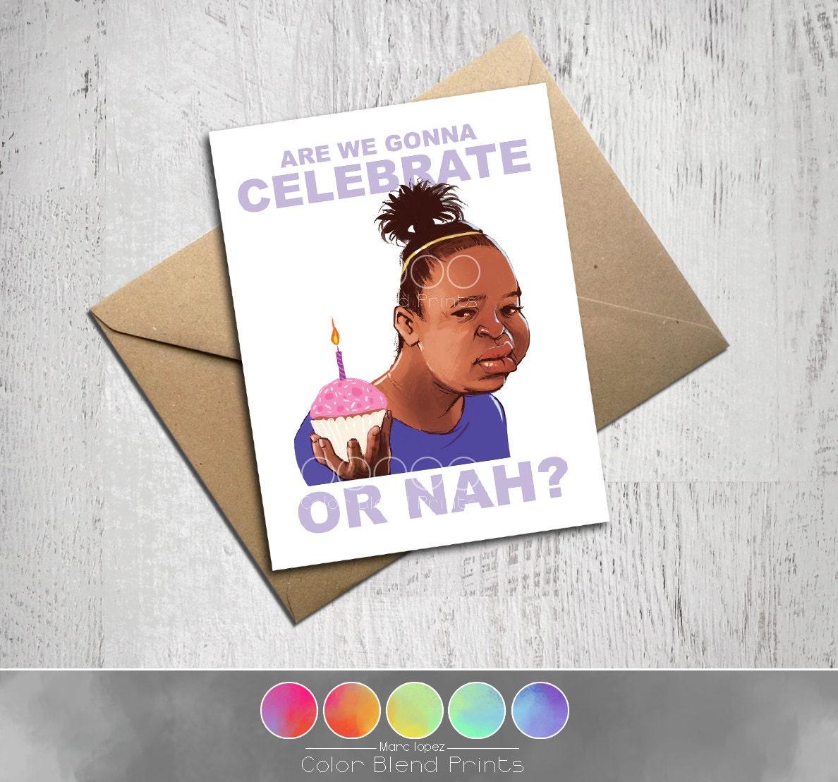 Funny Internet Meme Birthday Card Unique Kraft By