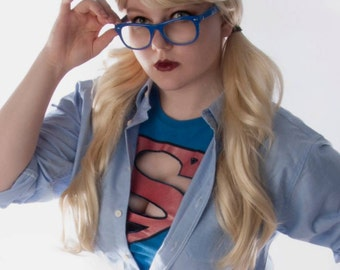 Personalized print Supergirl cosplay