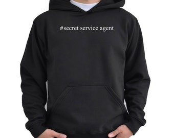 Secret Service Agent  Hashtag Hoodie