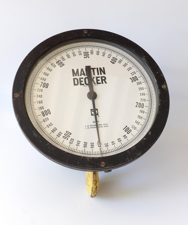 Marten Decker Load Indicator : Crane scale martin decker ton lb by