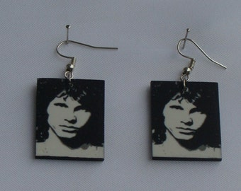 Jim Morrison Earrings