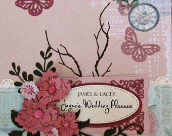 Cottage Chic Wedding Planner Book