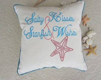 Seaside Porch  Beach Theme Pillow