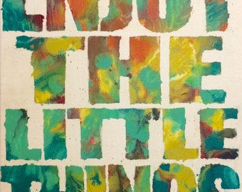 Enjoy - original painting