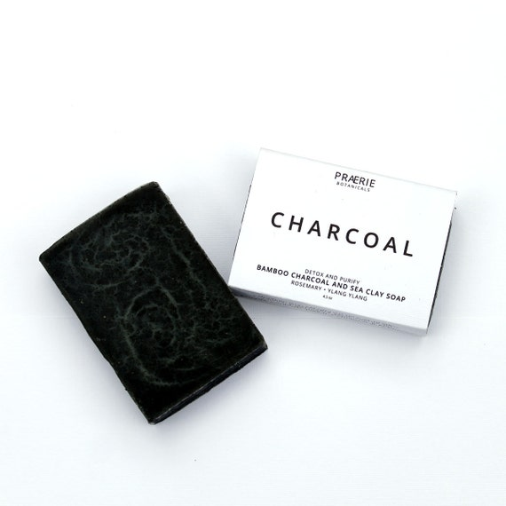 Charcoal Soap Bamboo Charcoal Soap Dead By PraerieBotanicals