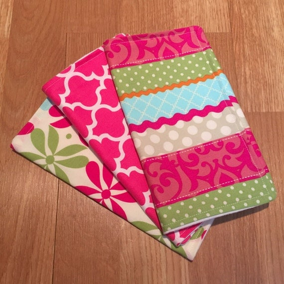 Boutique Burp Cloth Set Baby Girl Baby Shower by