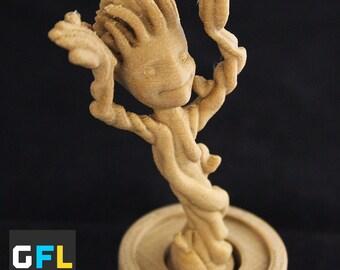 3D Printed Dancing Baby Groot