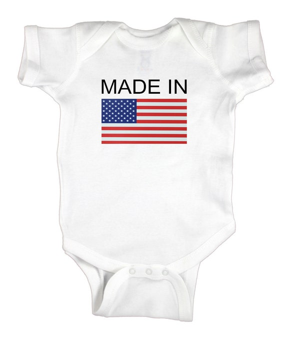 Baby Onesie - Made in America