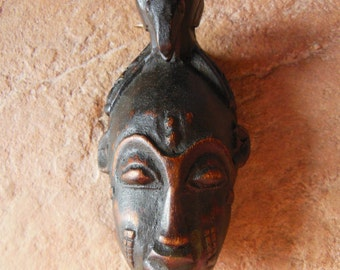 Yaure Baule Passport Mask Cote d'Ivoire African Carved Wood *3