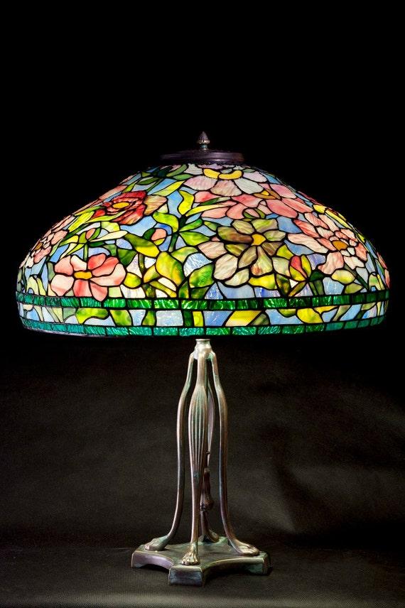 Tiffany Peony lamp