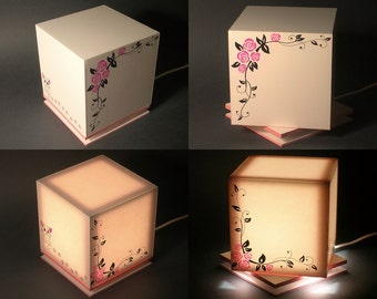 LED lamp, model CPD02ER (entirely handmade)