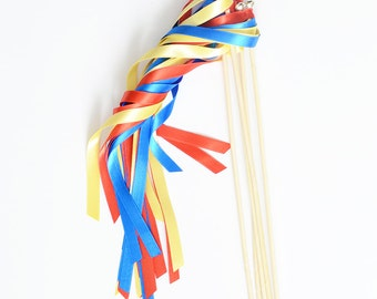 Snow White Wands, Princess Wands, Snow White Party Favors