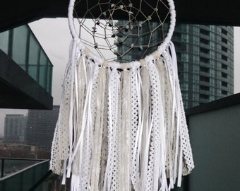 BOHO DREAMCATCHER | Lace & Crochet