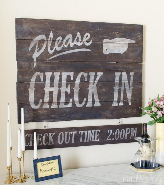 Retro Wood Art - Perfect for Guest Room