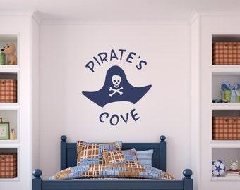 Kids Pirate Wall Decal Sticker Part 37