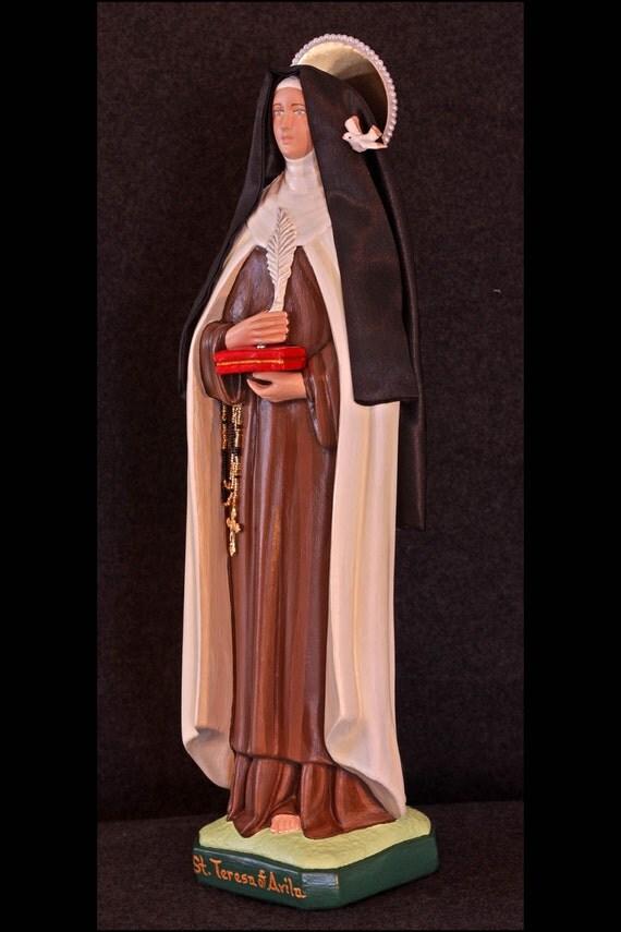 "St. Teresa of Avila 18"" Patroness of Headache Sufferers"
