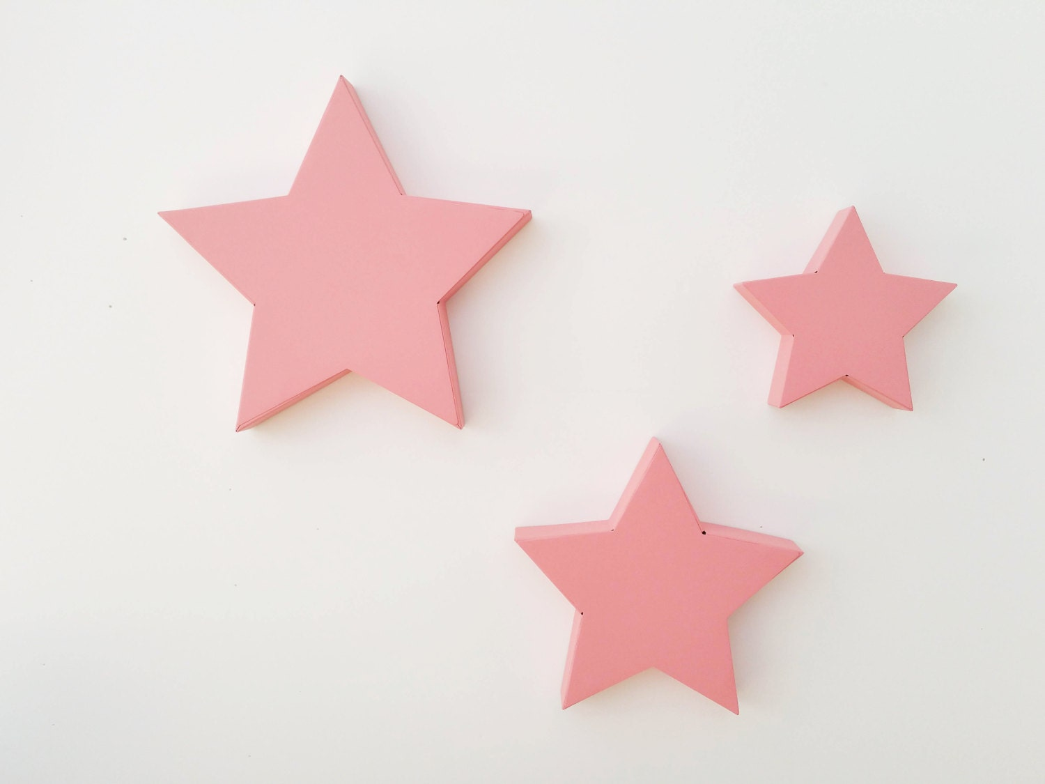 Metal Star Nursery Decor Kids Wall Decor Large By