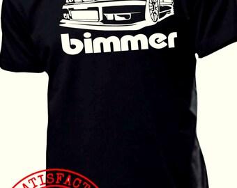 BMW E36 BIMMER t shirt m5 m3 m6 e90 e60 e46 e36 e34 e38 x5 x6 t shirt : s - 2xl COOL