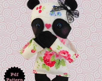 Panda Bear E-Pattern