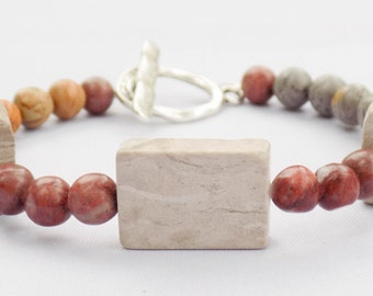 Handmade Marble Bracelet. Akostik Bracelet