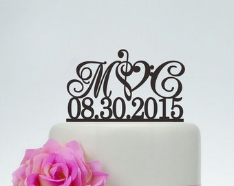 musical wedding cake toppers cake toppers etsy 17665