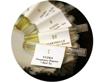 Sample Size Perfume Oil • Set of Four
