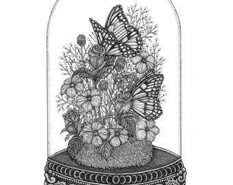 Butterfly Dome Print